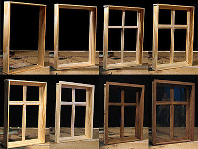 the windows size is din a4 1 i started with the wall frame using 40 mm x 5 mm pine wood profiles 2 glued in the windowframe using 10 mm balsa wood - Wood Frame Windows