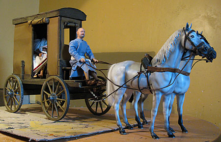 roman travel carriage