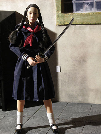samurai school girl